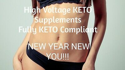 KETO  HIGH VOLTAGE ADVANCED FAT WEIGHT LOSS  Ketosis/Keto Diet/ BHB capsules