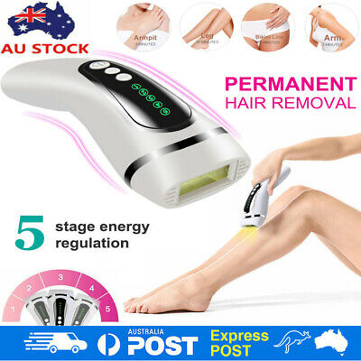 Laser IPL Permanent Hair Removal Machine Face and Body Skin Painless Epilator AU
