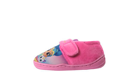 Officially Licensed Shimmer & Shine Girls Low Top Slippers Pink Various Sizes