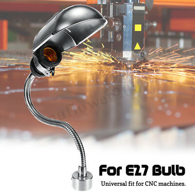 CNC Machine Working Lamp 110-220V Metal Lampshde Magnetic Base For E27
