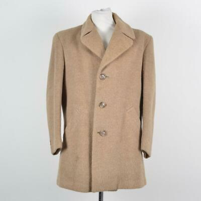 Hardy Amies By Hepworth Llama and Wool Vintage Jacket | Beige | 40' Medium M