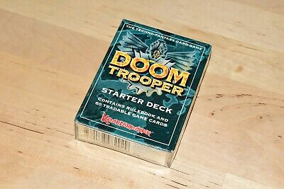Doom trooper FIRST EDITION Starter Deck CCG TCG new sealed