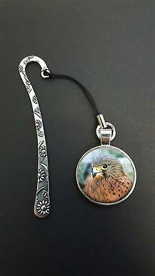 Hawk Pendant On a Metal Design Bookmark Ideal Birthday Reading Gift N48