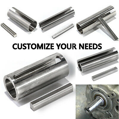 5 Style Shaft Sleeve Adapter Pulley Bore Reducer Bushing Sheave & Key Stainless