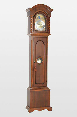 Corinthian Grandmother clock  H65 x W16 x D8 inches,aslo in oak ,