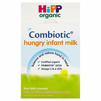 HiPP Organic  From Birth Onwards Combiotic Hungry Infant Milk, 800g