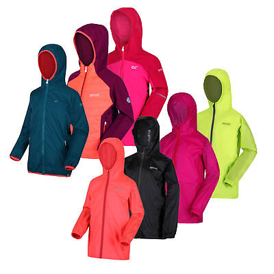 Girls Regatta Dare2B Lightweight Waterproof Jacket Clearance RRP £50