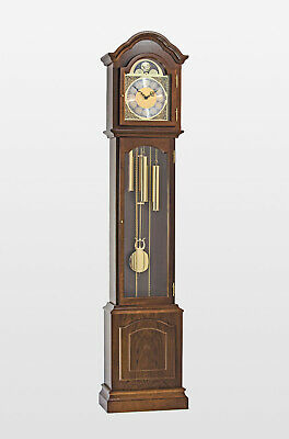 Glenhaven Grandmother Clock In Walnut Finish,in oak too,H78 x W14 x D8 inches