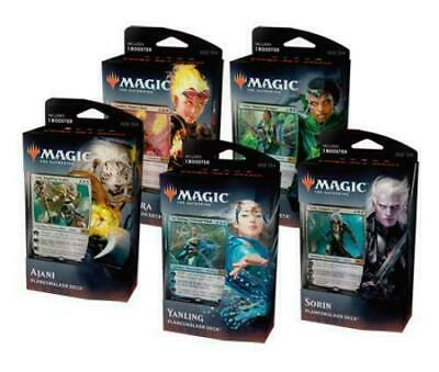 MTG Magic 2020 Core Set 5 Planeswalker Decks Boosters! box card PRIORITY SHIP!