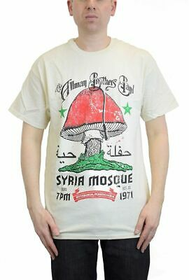 Allman Brothers Band Syria Mosque 1971 T-Shirt SM, MD, LG, XL, XXL New