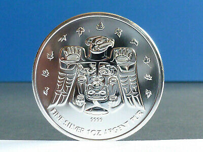 Kanada Canada 5 Dollars Maple Leaf 2009 Vancouver 1 Unze 999 Silber