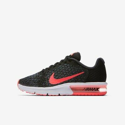 NIKE AIR MAX Sequent 2 Boys Girls Running Trainer Shoe Size 4 4.5 6 Rrp £55