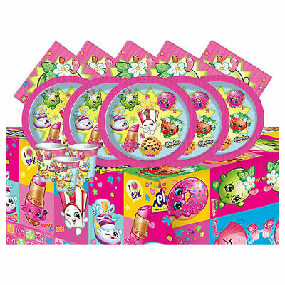 Shopkins Party Tableware Set for 8 Persons - Throw a party with Shopkins!