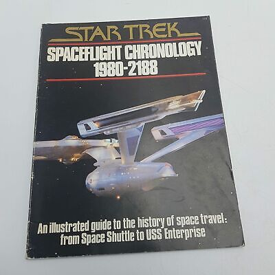 Star Trek Spaceflight Chronology 1980-2188 (1979) Illustrated Guide