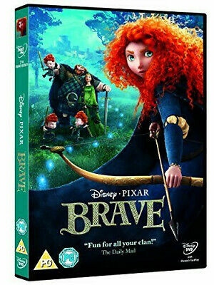 Brave [DVD] [2012] - DVD Very good condition. (FREE SHIPPING)