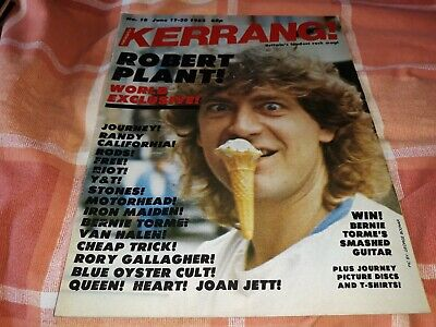 Kerrang 18 - Robert Plant, Journey, Randy California, The Rods, Free, Riot, Y&T