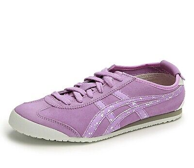Womens Onitsuka Tiger Mexico 66 D4S5L 3535 Sheer Lilac Casual Lace Up Trainers