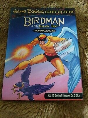 Birdman and the Galaxy Trio: The Complete Series (DVD, 2007, 2-Disc Set)