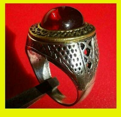 Extremely Ancient Old Ring Silver Antique Viking Rare Artifact Quality
