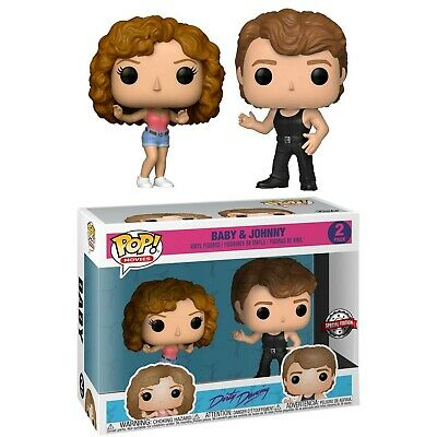 Funko Pop Movies - Dirty Dancing 2 Pack Baby Et Johnny Edition Speciale - Neuf