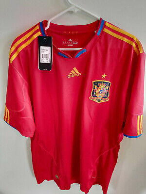 100% authentic b42d1 4db71 ADIDAS CLIMACOOL SPAIN NATIONAL TEAM SOCCER/football JERSEY ...