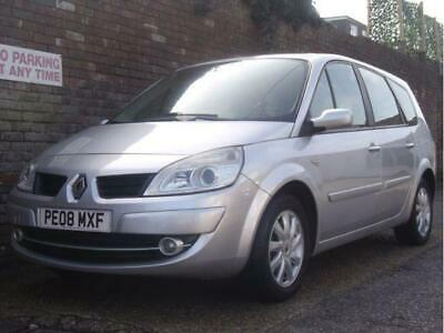 Renault Grand Scenic 1.6 Dynamique 7 Seat MPV PETROL MANUAL 2008/08