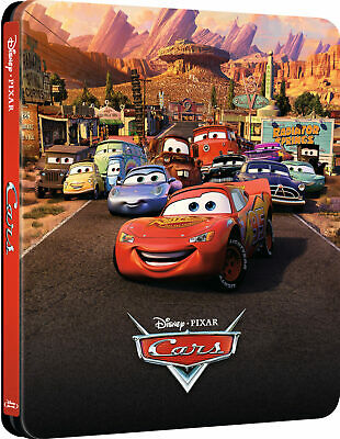 Cars Steelbook Blu-Ray 3D + Blu-Ray