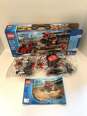 LEGO City Monster Truck Transporter (60027) Not Complete Unopened Bags 2,3,4