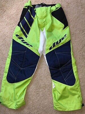 Dye Paintball Pants XL/XXL Lime Green And Navy Blue