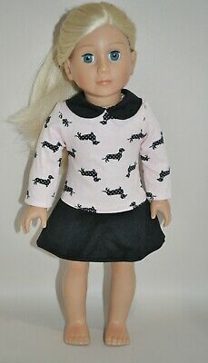 """American Girl Dolls Our Generation Dolls 18"""" Doll Clothes Puppy Dress"""