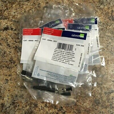 49990-MST Leviton Fast-Cure ST MM - Lot of 50 - Free Shipping!
