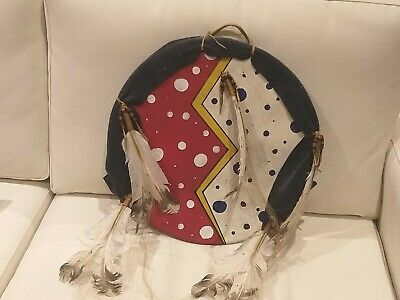 American Indian Crazy Horse Shield by Bridget Eagle Feather