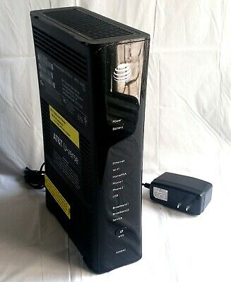 AT&T U-VERSE PACE 5268AC Gateway Internet Wireless Modem