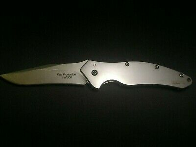 Kershaw Shallot 1840 Ken Onion Speed Assisted Knife / Silver