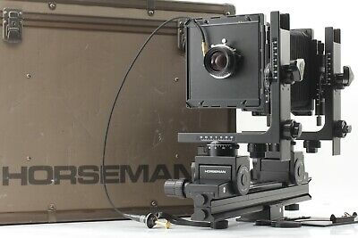 【MINT】HORSEMAN LX 45 4x5 Large Format Camera + Symmar S 135mm F5.6 From JAPAN