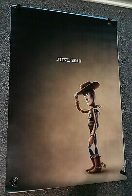 TOY STORY 4 2019 DS 27x40 original movie poster Advance Pixar, Disney Tom Hanks