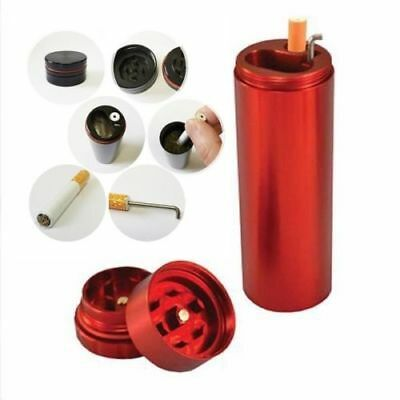 Hottest Metal Tobacco Crusher Double Layers Storage Smoking Pipe Herb Grinder GS