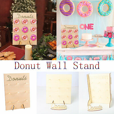 Donut Wall Stand Cumpleaños Wedding Party Favor Donut Sweet Cart Treat Stand