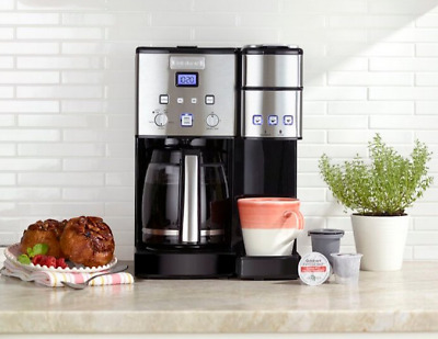 Cuisinart SS-15 Coffee Center 12 Cup Coffeemaker and Single-Serve Brewer