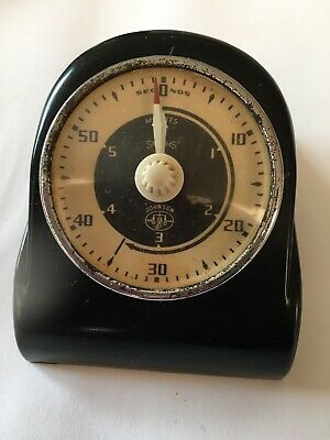 Vintage Smiths Bakelite Timer for Photo Developing- Johnsons Enlarger Timer