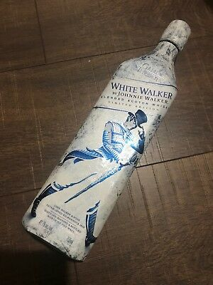 Johnnie Walker White Walker Limited Game of Thrones-EMPTY BOTTLE ONLY!
