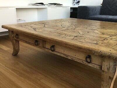 Wooden Coffee Table.Lovely Large Solid Wooden Coffee Table