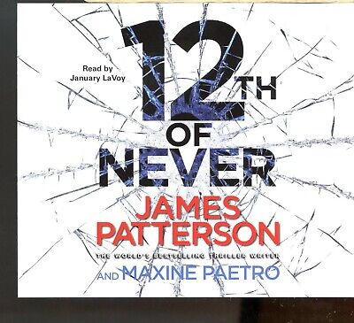 James Patterson / 12th Of Never - 4CD Audiobook