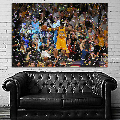 #13 Kobe Bryant Basketball Sport Athlete 40x60 inch More Sizes Large Poster