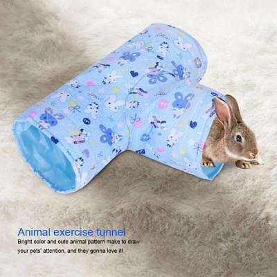 Warm Tunnel Rabbit Ferret Hamster Guinea Pig Exercise Play Toy Pet Tube