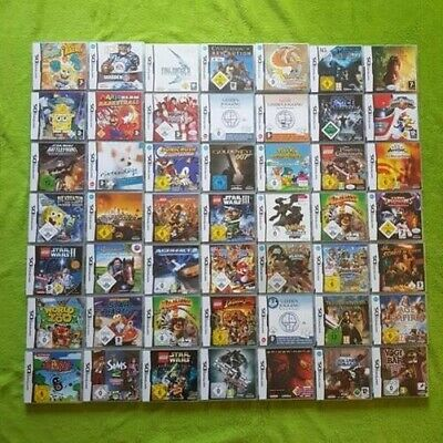 Nintendo DS Games - Pokemon, Super Mario, Harry Potter. Star Wars, Lego u. v. M.