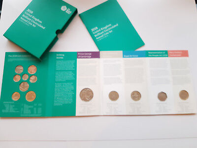 2018 UK royal mint Brilliant Uncirculated Annual Coin Set sealed perfect 1 of 3