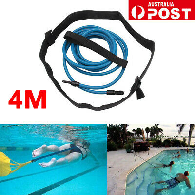 Swim Bungee Trainer Belt Swimming Resistance Leash Stationary Swimming System