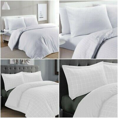 Top Hotel Quality 400Tc Thread Count Duvet Quilt Cover Bedding Set All Sizes