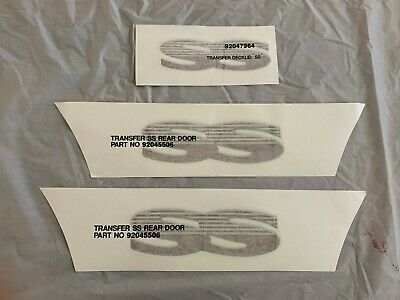 SS decals sticker set suit VR VS Holden Commodore , rear door and boot set